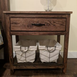 Nightstand Red Oak