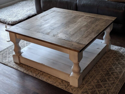 Pillar Coffee Table