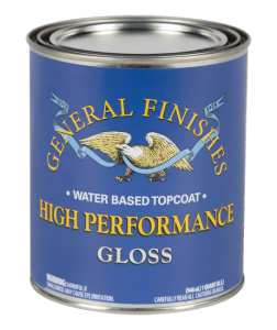 Care - General Finishes High Performance Water Based Topcoat