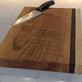 Curly Oak Cutting Board