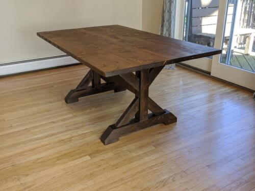 Dining Table from Really Old Wood
